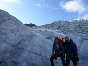 Am Gepatsch-Gletscher