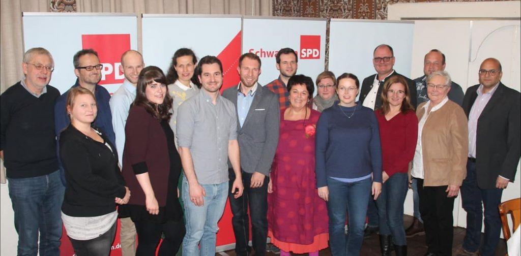 Stadtrat-Kandidatenteam Gruppenbild